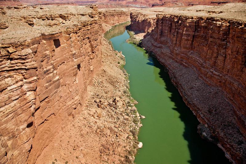 The Colorado River near Page, Arizona