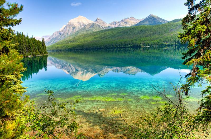 Bowman Lake, Glacier National Park, Montana