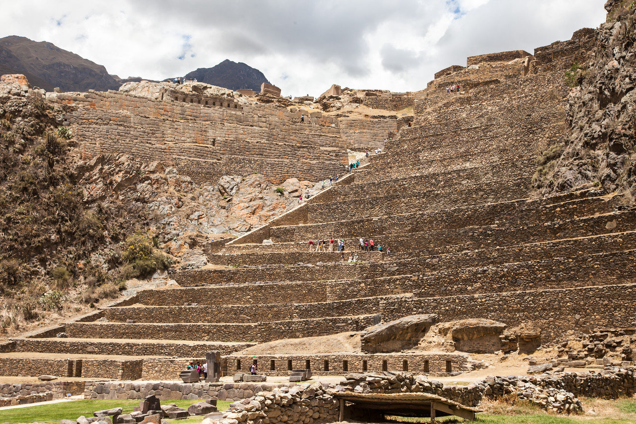 Before our trip later in the week to Machu Picchu, we spent time at the smaller ruins at Ollantaytambo, a city from the 1500s.