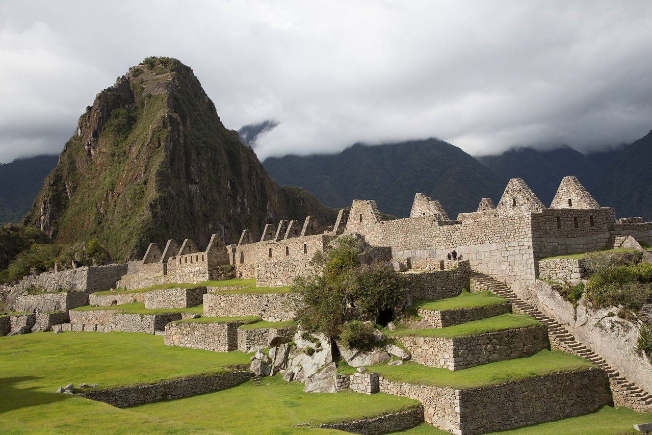 In the 16th century plagues and Spanish conquistadors wiped out the Incans and Machu Picchu became the lost city of the Incas.