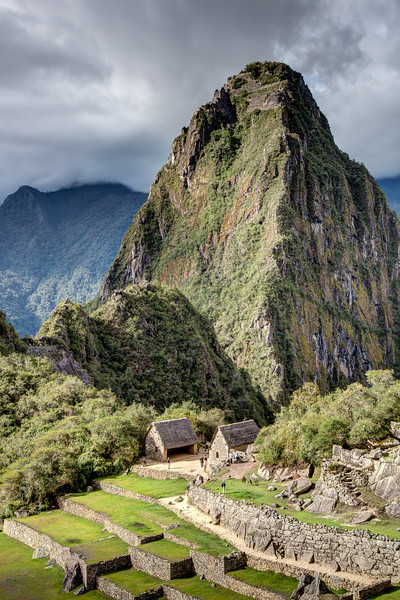 How the Incans built Machu Picchu remains mostly a mystery. Although they were aware of the wheel, they did not use the wheel to move the stones. It appears they used hundreds of workers to move each stone into place.