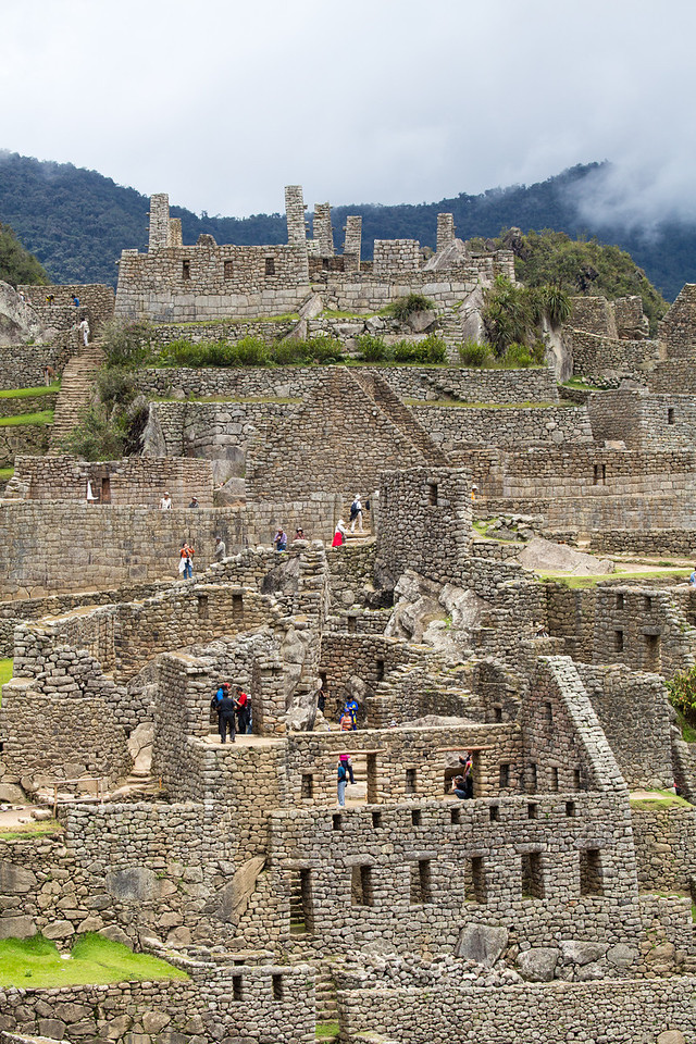 Machu Picchu is believed to have been a royal estate and religious place for the rulers of the Incans,