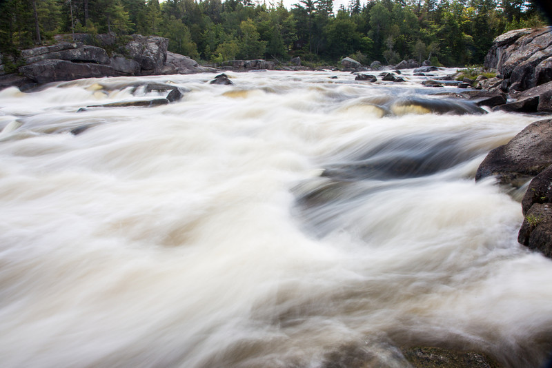 Rapids on the Penobscot