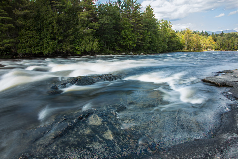 Rapids on the Penobscot River