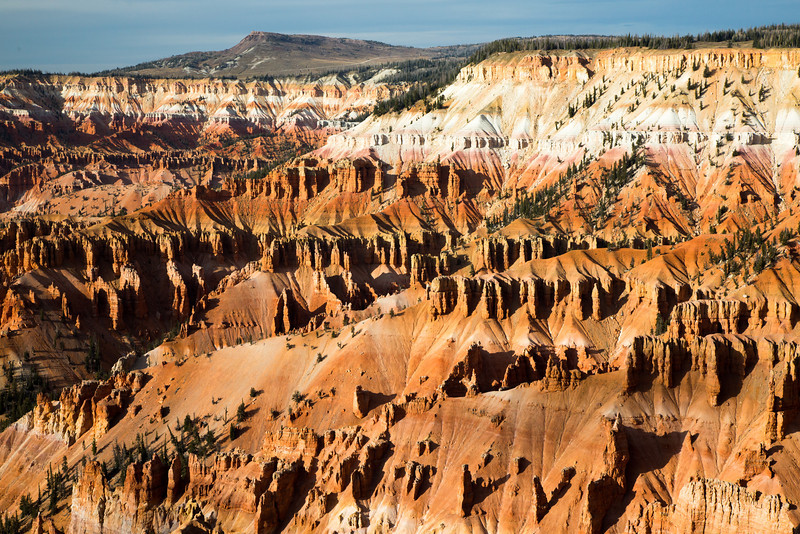 A view of the hoodoos at Cedar Breaks National Monument