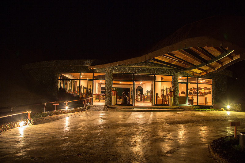 An early morning photo of the Tarangire Sopa Lodge shortly before going on a safari drive.