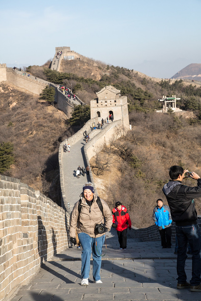 Much of the Wall has been rebuilt and now well maintained as a major tourist attraction.