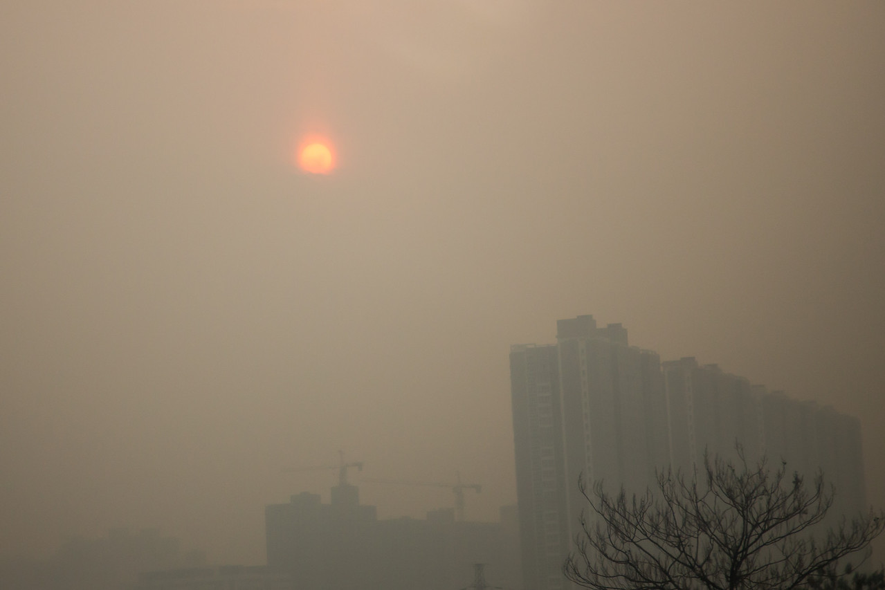 Unfortunately we returned to Xian to this pollution.