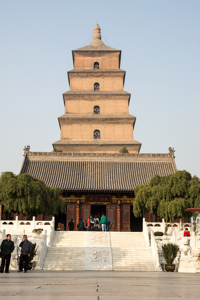 This is the Famen Temple of Xian