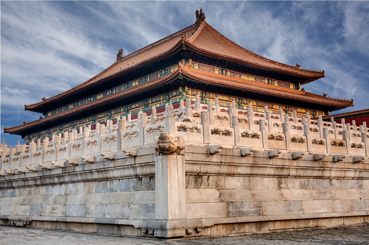 Another building within the Forbidden City.