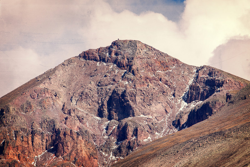 San Luis Peak, 14,014 ft located between Creede and Lake City