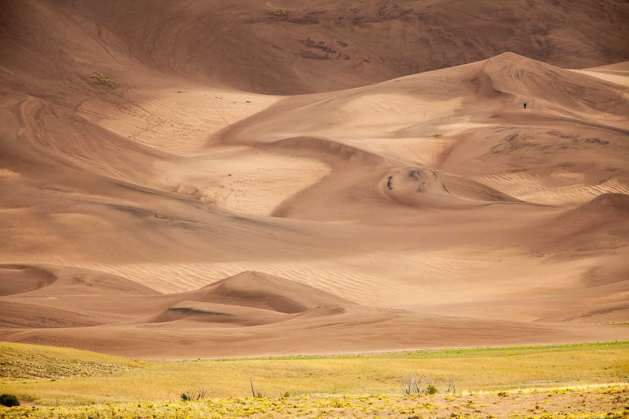 North America's tallest dunes make for a challenging, and sometimes lonely hike