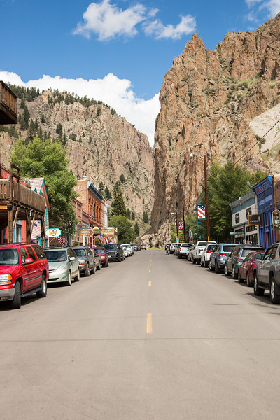 Main street of Creede, CO, a fun little tourist town