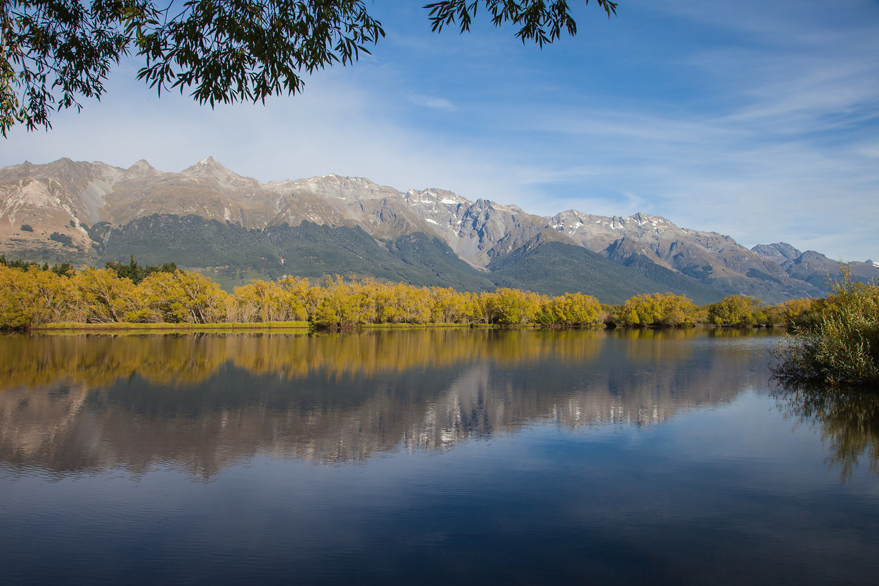 Outside Glenorchy.