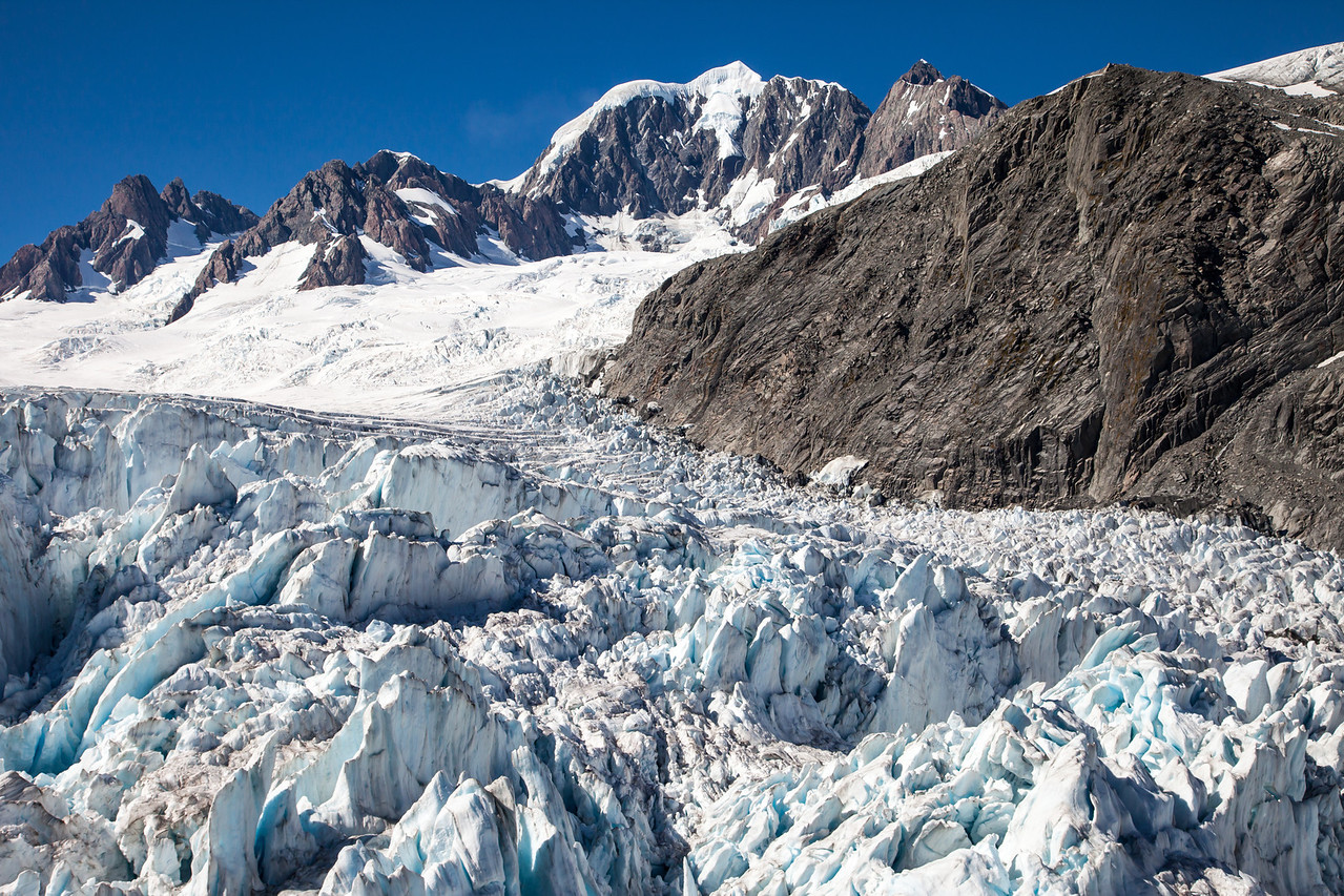 Another view of the glacial ice.