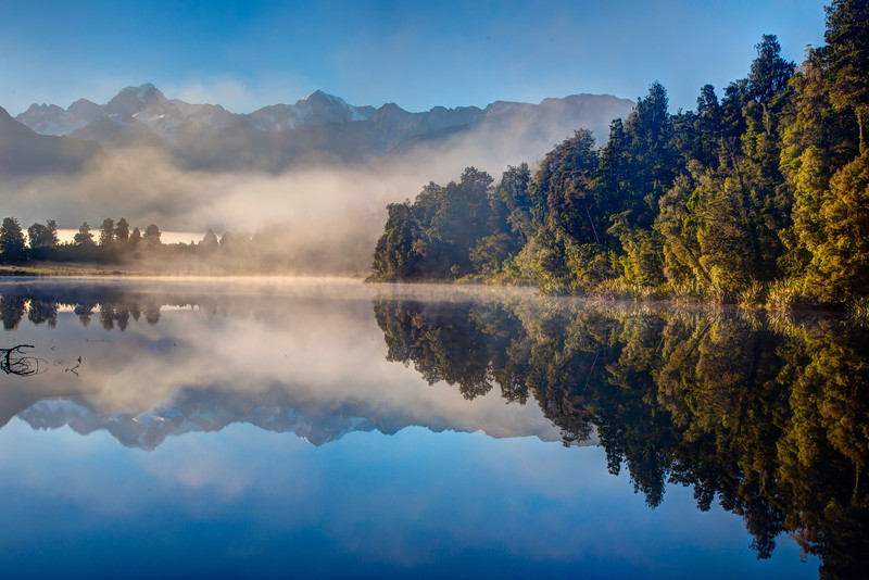 Another view of Lake Matheson.