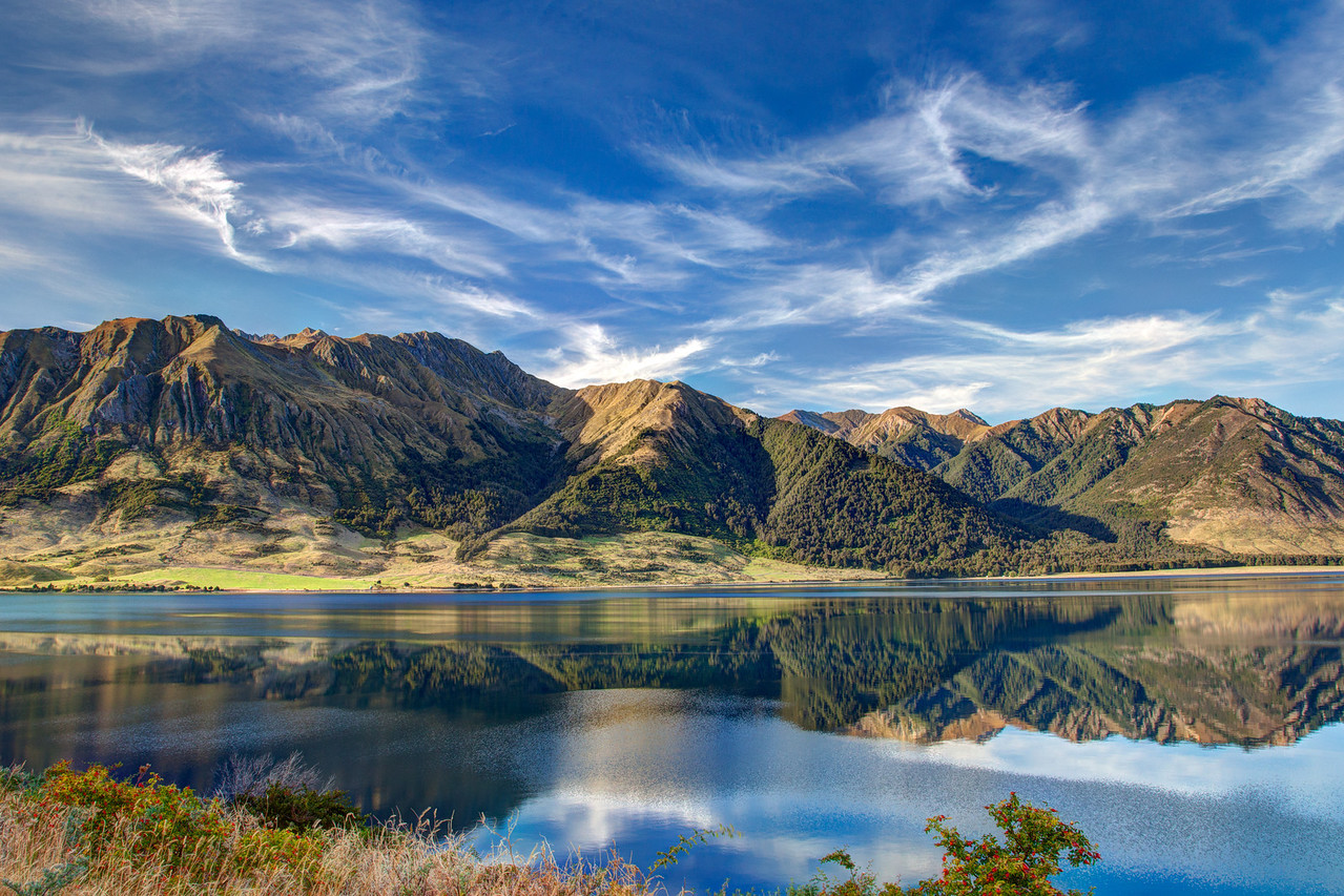 Lake Ohau outside of Wanaka.