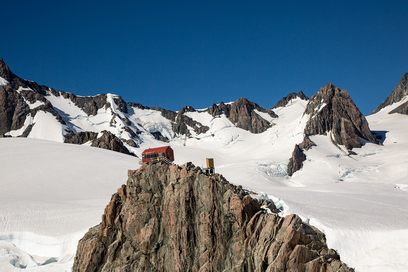 What a place for a mountaineering cabin!