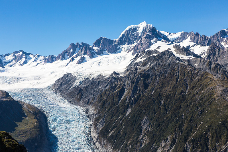 The beginning of Fox Glacier.