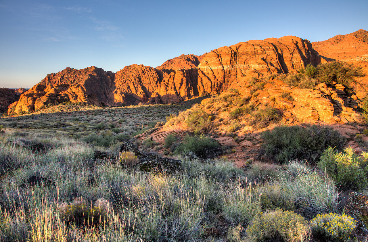 Another view at Snow Canyon State Park.