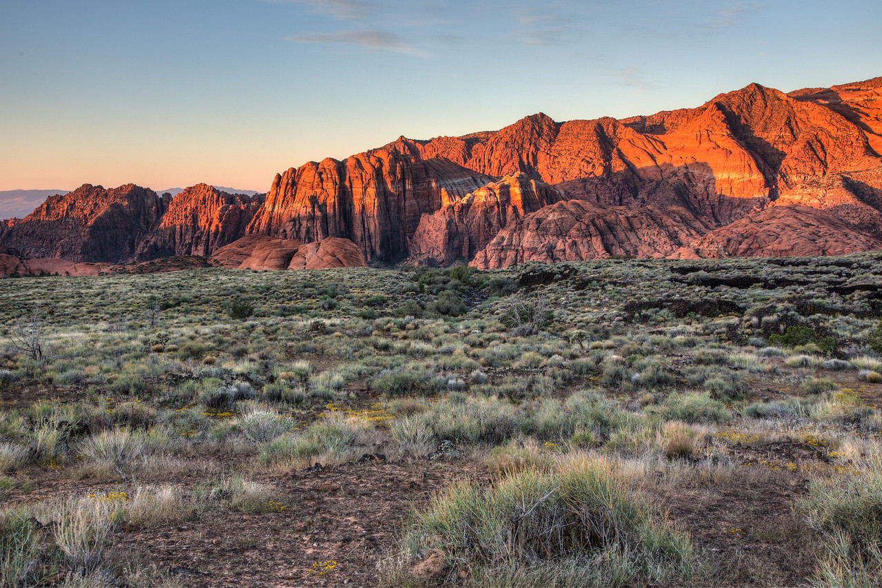 I always enjoy driving through Snow Canyon State Park which is just outside St. George.