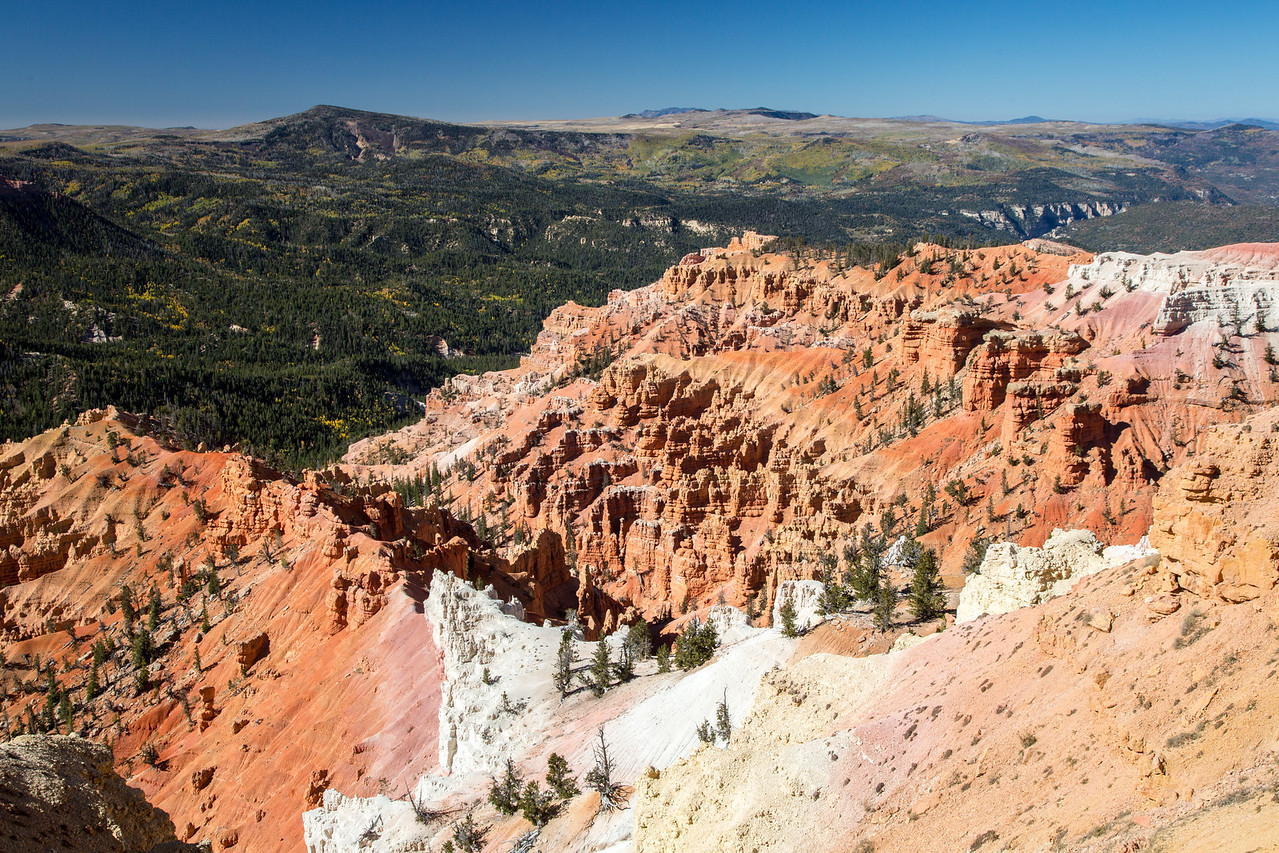 A view at Cedar Breaks National Monument.