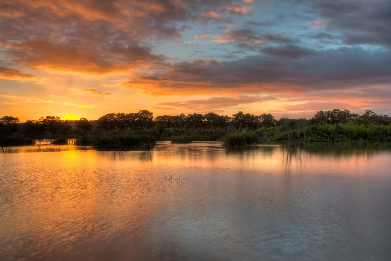 Sunrise in Mannum