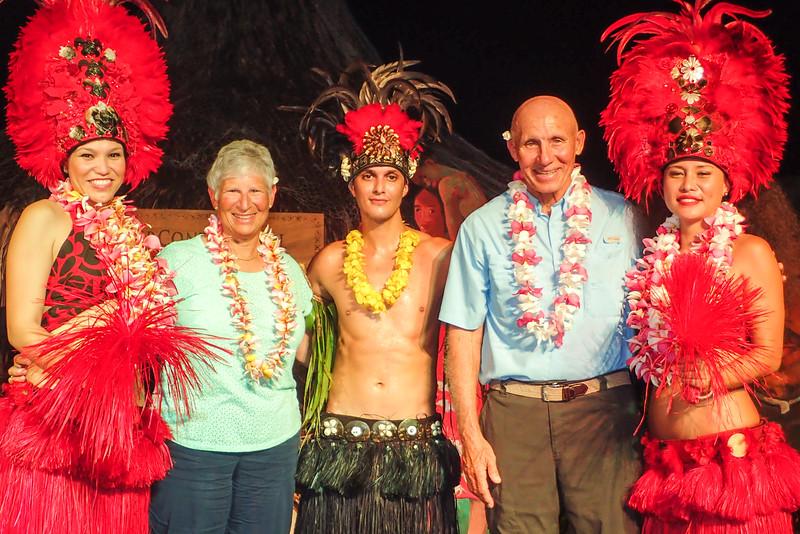 Celebrating in Papeeta, Tahiti