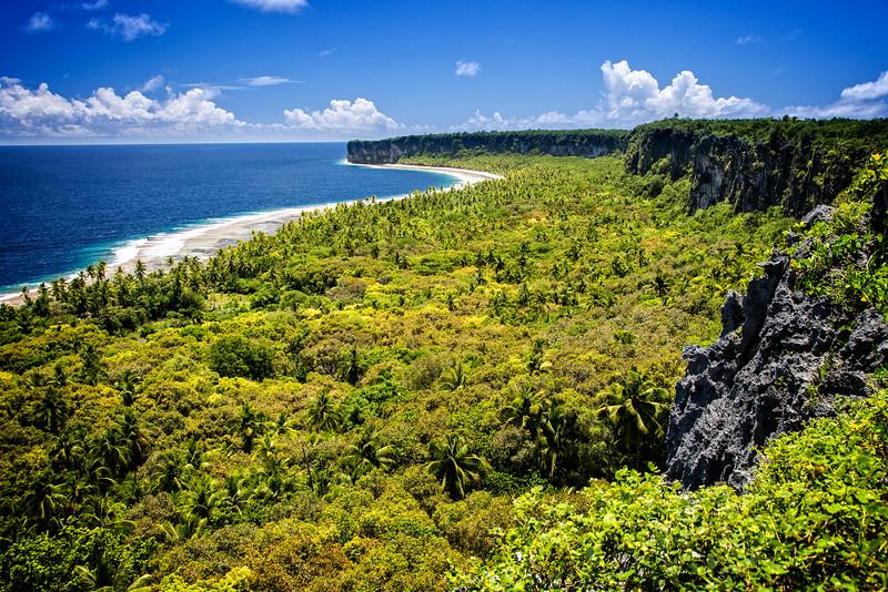 Makatea Island, French Polynesia