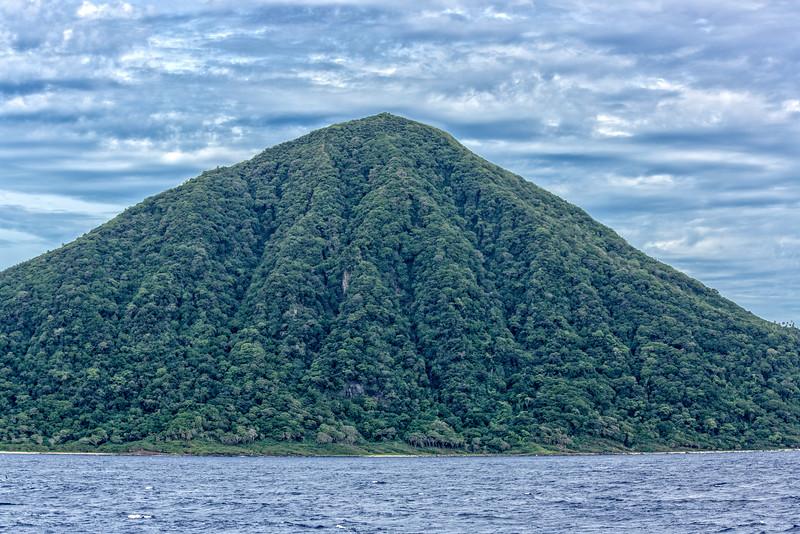 Small volcanic island, Tonga