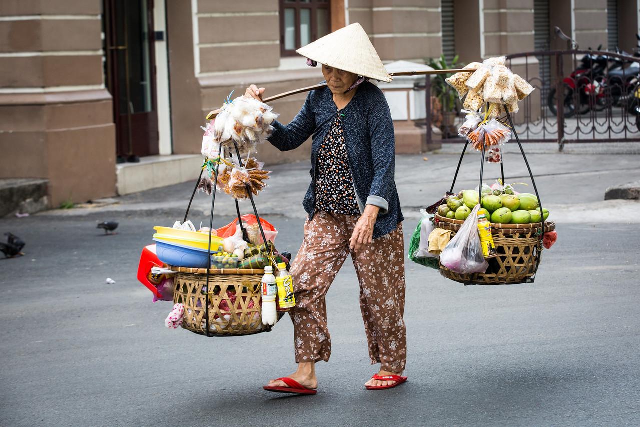 Saigon is modern and backward all thrown together.