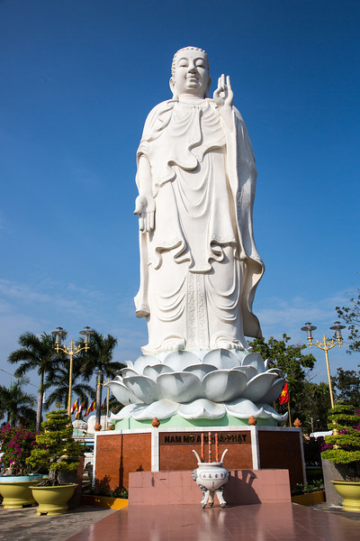 And another statue at the Vinh Trang Pagoda.