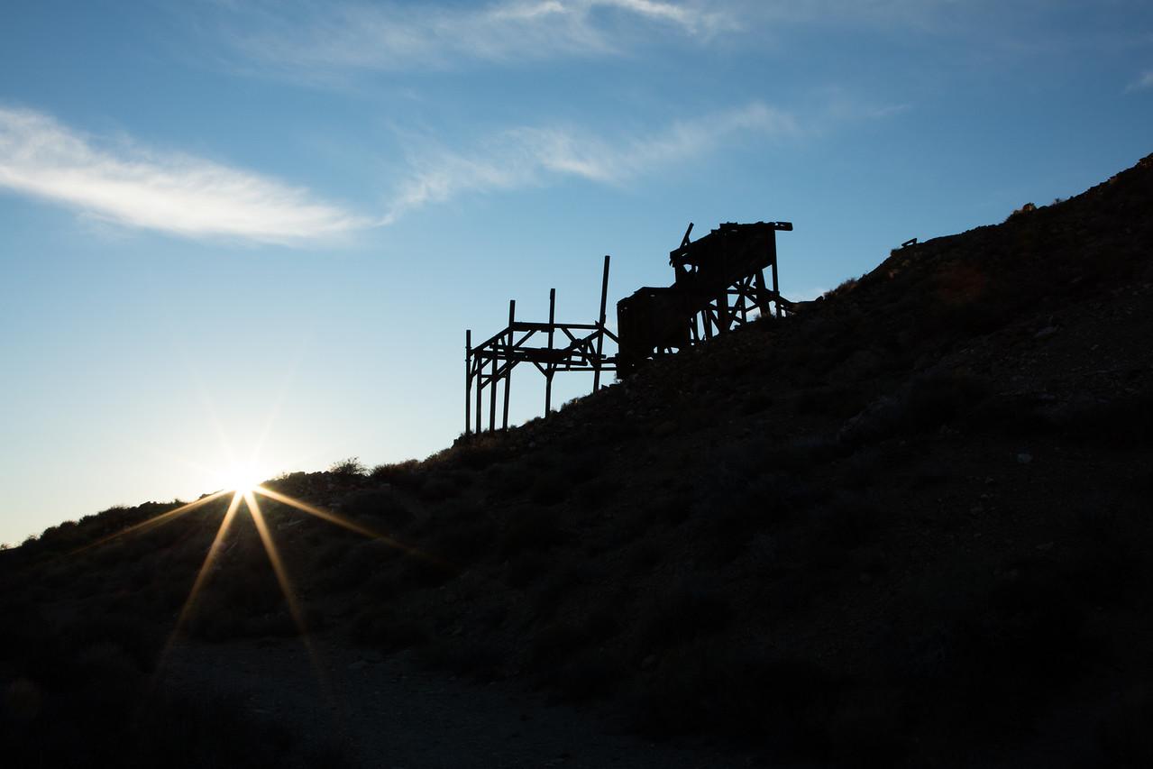 Eureka Mine near Aguereberry Point