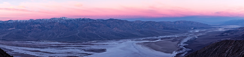 Panorama of Death Valley from Dante's View