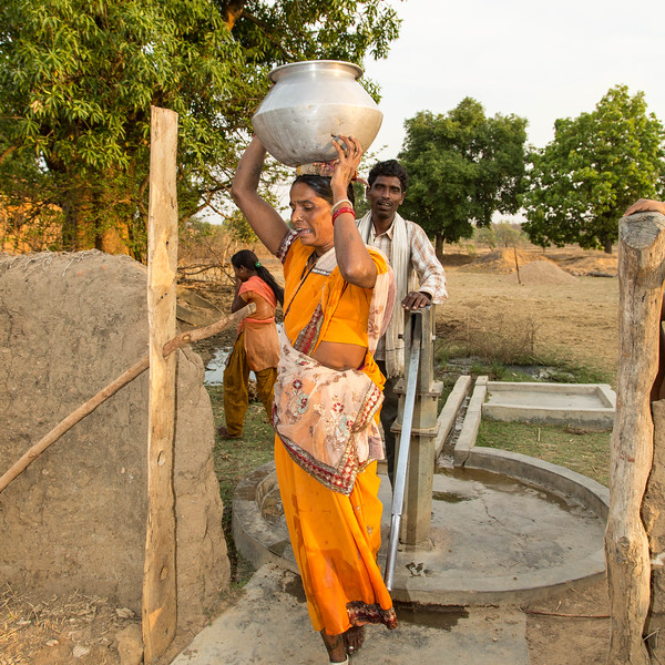 Indoor plumbing and running water are well out of the means of at least one-third of the 1.3 billion Indians.
