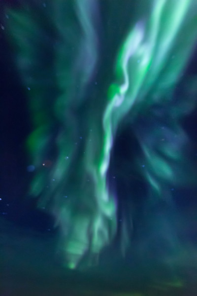 One last view of the Aurora Borealis.