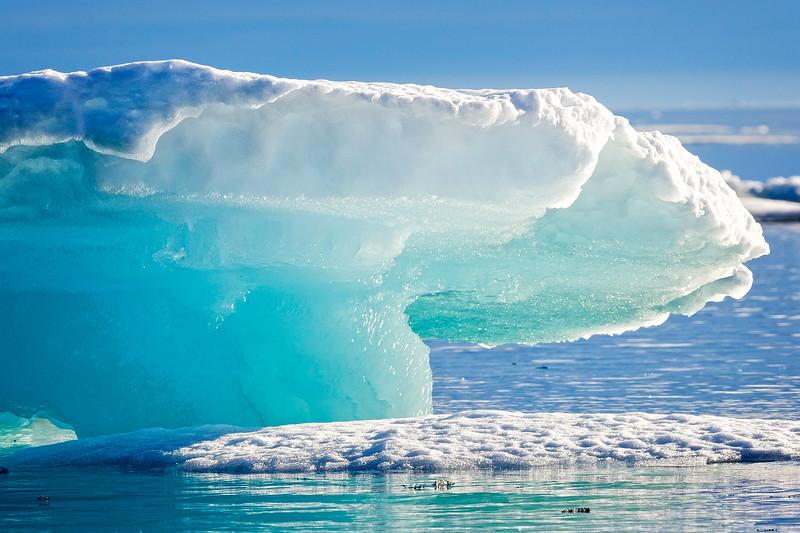 Mushroom iceberg.