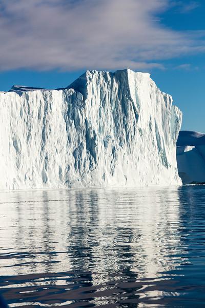 Enormous icebergs
