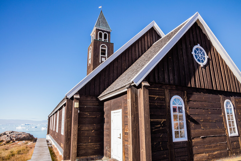 Church in Ilulissat.