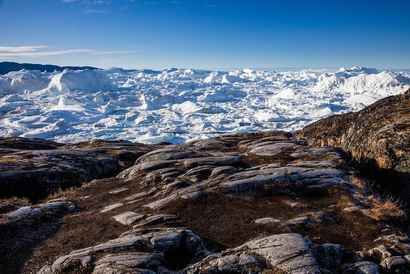 Jakobshavn Glacier.
