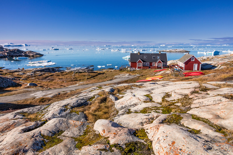 Walking around Ilulissat