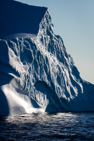 Huge iceberg at Monumental Island.