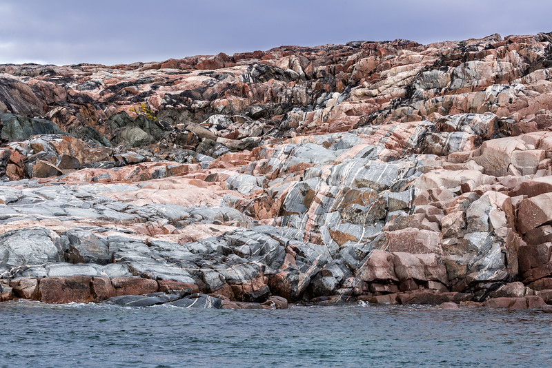 We attempted to reach Barrow Falls but could not reach it because of low tides. So we photographed the beautiful granite rocks.