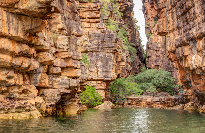 Along King George River