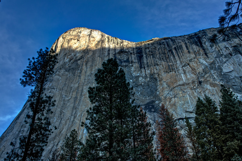 First light on El Capitan