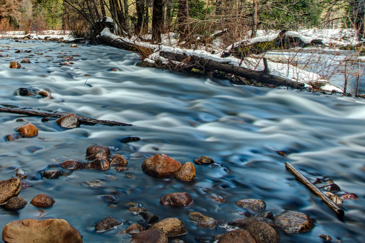 Small rapids on the Merced River
