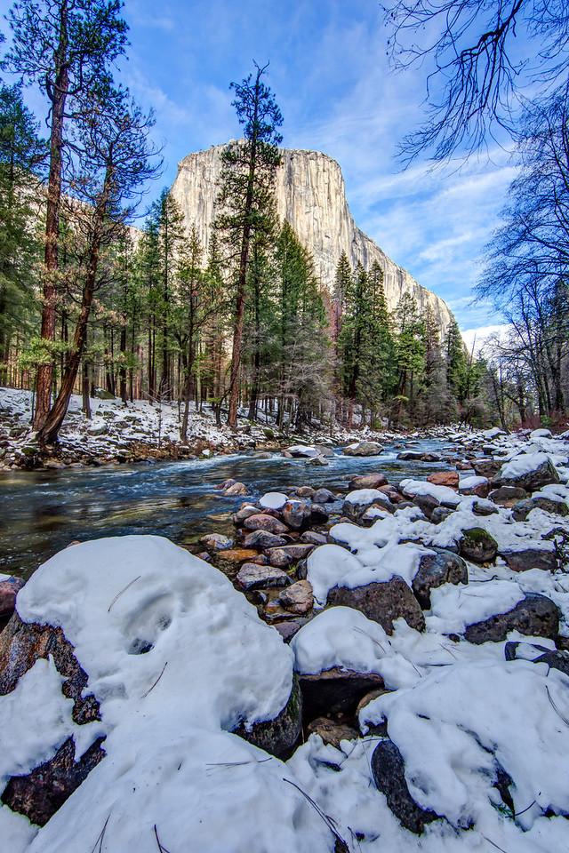 El Capitan from the Merced River