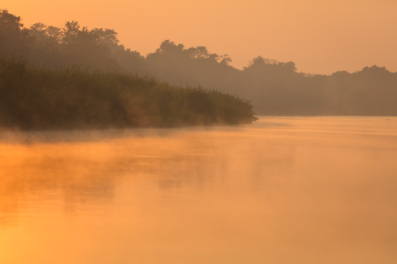 Early morning on the river
