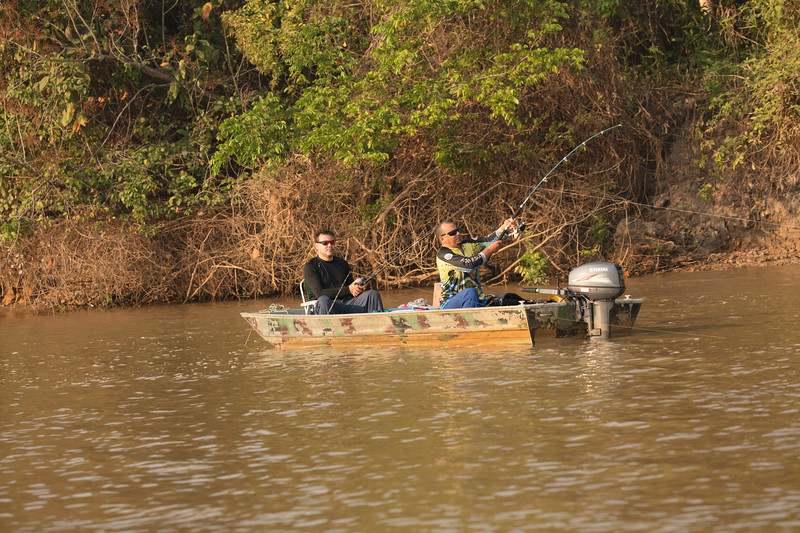 The region is popular for fishing.