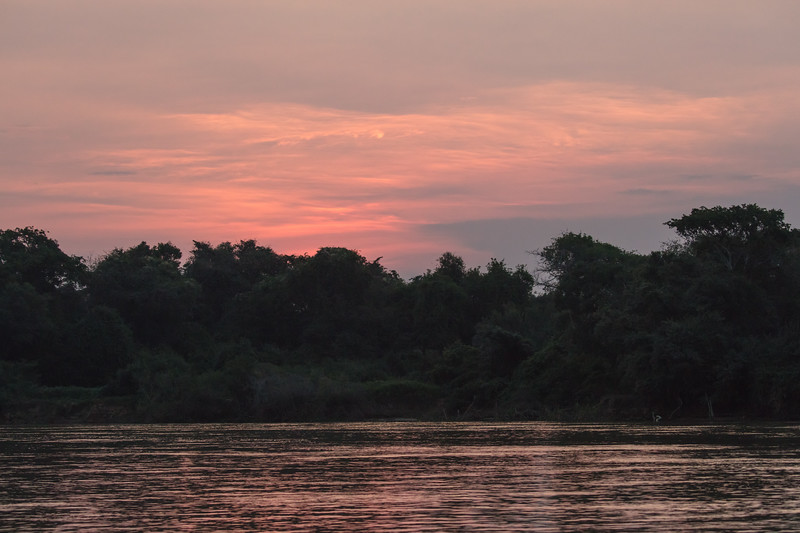 The end of another day in the Pantanal.